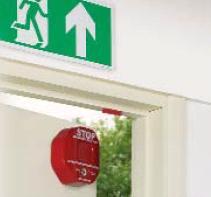 (STI 6400) Exit Stopper door alarm & STI 6400) Exit Stopper door alarm